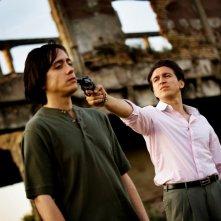 Jesus Emiliano Coltorti e Alessandro Roja in Romanzo Criminale - La serie