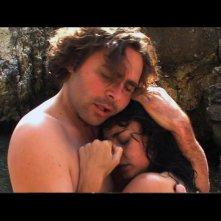 Massimo Fersini in una scena del film Totem Blue