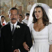 Bianca Guaccero e Lollo Franco in una scena di Mia madre