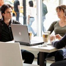 Ian Somerhalder, Lauren Cohan e Trevor Peterson nell'episodio Katerina di Vampire Diaries