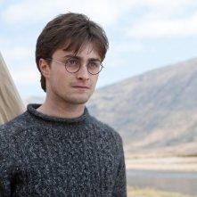 Una scena del film Harry Potter e i Doni della Morte - parte 1 con Daniel Radcliffe