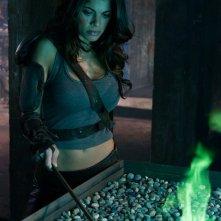 Una sequenza dell'episodio Abandoned di Smallville con Lindsay Hartley