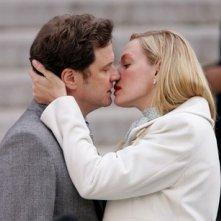 Colin Firth ed Uma Thurman in una scena tenera del film The Accidental Husband