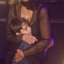 Giuseppe Spitaleri con Sophia Loren sul set di Nine