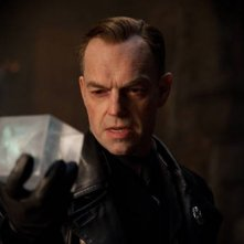 Hugo Weaving in una scena di Captain America: il primo vendicatore