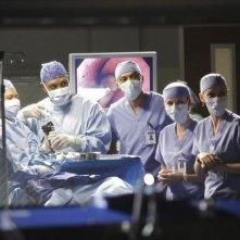 Il cast di Grey's Anatomy nell'episodio Adrift and at Peace