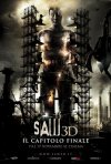La locandina italiana definitiva di Saw 3D