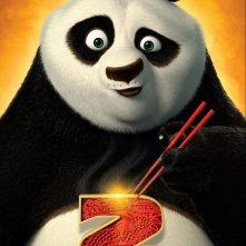 Teaser poster italiano per Kung Fu Panda 2
