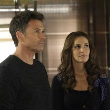Tim Daly e Amy Brenneman in Private Practice nell'episodio Can't Find My Way Back Home