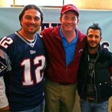 Tom Brady con gli assistenti