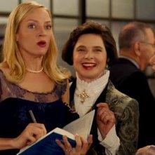 Uma Thurman con Isabella Rossellini nella commedia The Accidental Husband