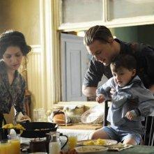 Aleksa Palaldino e Michael Pitt in una sequenza dell'episodio Belle Femme di Boardwalk Empire