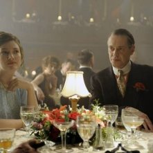 Kelly Macdonald e Steve Buscemi in una scena dell'episodio Belle Femme di Boardwalk Empire