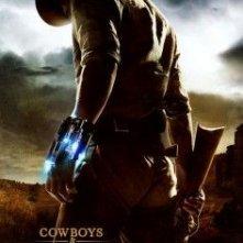 La locandina di Cowboys & Aliens