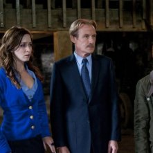 Rupert Grint, Bill Nighy ed Emily Blunt nel film Wild Target
