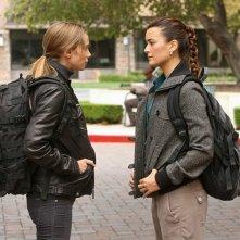 Sarai Givaty faccia a faccia con Cote de Pablo nell'episodio Enemies Foreign di NCIS