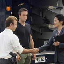 Alex O'Loughlin e Scott Caan in Hawaii Five-0 nell'episodio Ho'apono