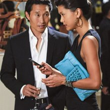 Daniel Dae Kim e Grace Park in Hawaii Five-0 nell'episodio Mana'o