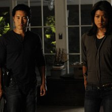 Daniel Dae Kim e Grace Park in Hawaii Five-0 nell'episodio Po 'ipu