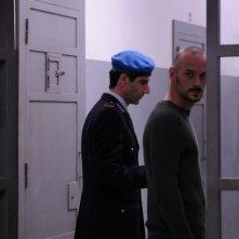 Gianni Cinelli e Filippo NIgro in una scena del film Dalla vita in poi con