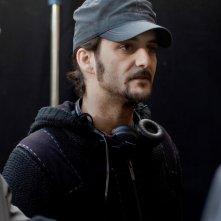 Il regista Olivier Masset-Depasse sul set del suo Illegal
