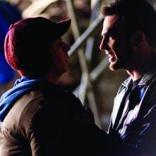 Michael Cera con Chris Evans nel film Scott Pilgrim vs. the World