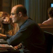 Nina Rodriguez  e Bernard Campan in una scena di No et moi