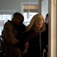Elizabeth Banks in una scena clou del film The Next Three Days