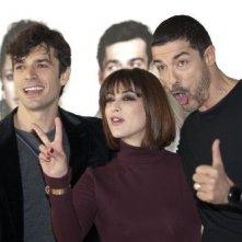 Luca Argentero, Alessandro Gassman e Valentina Lodovini presentano La donna della mia vita