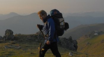 Martin Sheen in una scena del road movie The Way