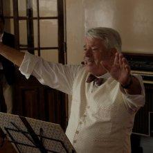 Toffolo direttore d'orchestra nella fiction Tutti i padri di Maria