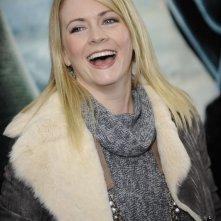 Una sorridente Melissa Joan Hart alla premiere di Harry Potter e i doni della morte - parte 1 a New York