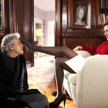 Eleonora Sergio seduce Paolo Bessegato nella miniserie Due mamme di troppo