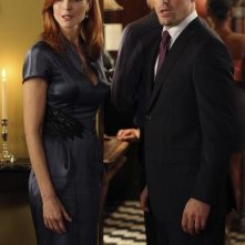 Brian Austin Green e Marcia Cross in una scena dell'episodio Pleasant Little Kingdom di Desperate Housewives
