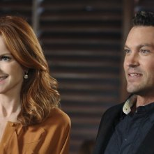 Brian Austin Green e Marcia Cross nell'episodio A Humiliating Business di Desperate Housewives