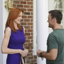 Brian Austin Green e Marcia Cross nell'episodio The Thing That Counts Is What's Inside di Desperate Housewives