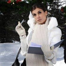 Elisabetta Canalis in una scena del film A Natale mi sposo