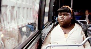Gabourey 'Gabby' Sidibe nel film Precious