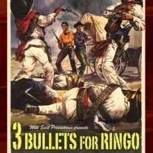 La locandina di Tre colpi di Winchester per Ringo