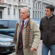 Luca Argentero con Giorgio Colangeli nel film La donna della mia vita
