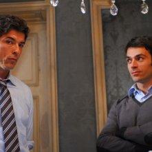 Luca Argentero e Alessandro Gassman in un'immagine del film La donna della mia vita