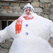Massimo Boldi in un'immagine del film A Natale mi sposo