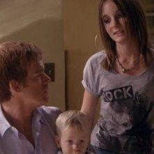 Michael C. Hall e Christina Robinson in una scena dell'episodio 'Teenage Wasteland' di Dexter