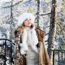 Nancy Brilli in splendida forma nel film A Natale mi sposo