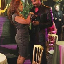 Reggie Austin e Vanessa Williams in una scena dell'episodio Let Me Entertain You di Desperate Housewives