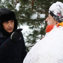 Vincenzo Salemme e Massimo Boldi nella commedia A Natale mi sposo