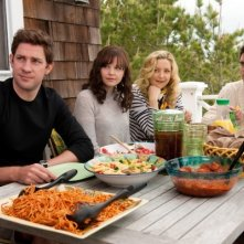 Ginnifer Goodwin, Kate Hudson, John Krasinski e Colin Egglesfield in Something Borrowed