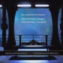 Il menù principale di selezione episodi del disco 6 di Stargate Universe, stagione 1