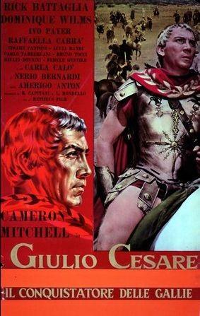 La Locandina Di Giulio Cesare Il Conquistatore Delle Gallie 184201