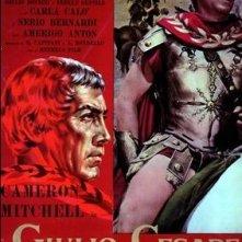 La locandina di Giulio Cesare il conquistatore delle Gallie